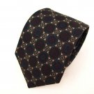 Harve Benard medallion 100% Silk mens necktie tie