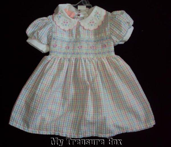 FINE & DANDY 3 6 M SPRING BABY GIRL DRESS