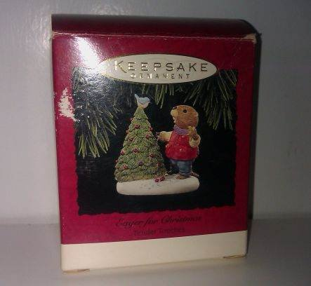 Eager for Christmas Hallmark Keepsake Ornament
