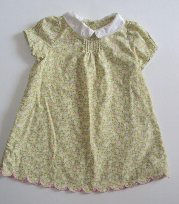 GYMBOREE 3T Yellow Flower Spring Lightweight Dress