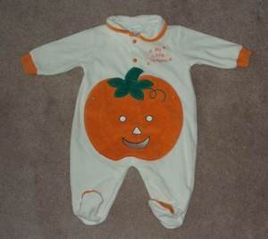 CARTER'S BABY 6 MTHS MY LITTLE PUMPKIN OUTFIT ~ CUTE!!