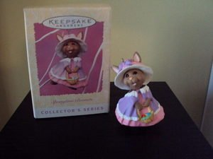 Springtime Bonnets Hallmark Keepsake Ornament 1997 MIB