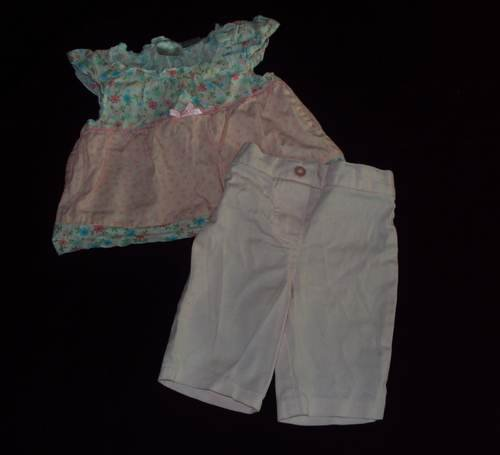 12 M MINIWEAR 2 Pc Spring Floral Outfit