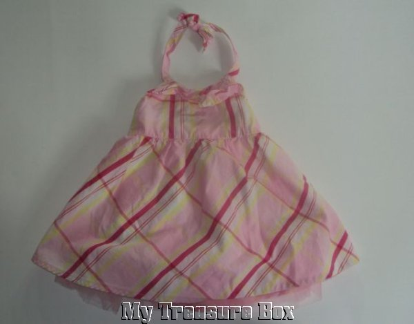 KOALA KIDS 6 9 M SPRING HALTER DRESS