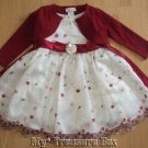 YOUNGLAND 3T Gorgeous Dressy Dress with Sweater