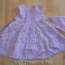 BLUEBERI BOULEVARD 24 M Lavendar Dress w Matching Hat