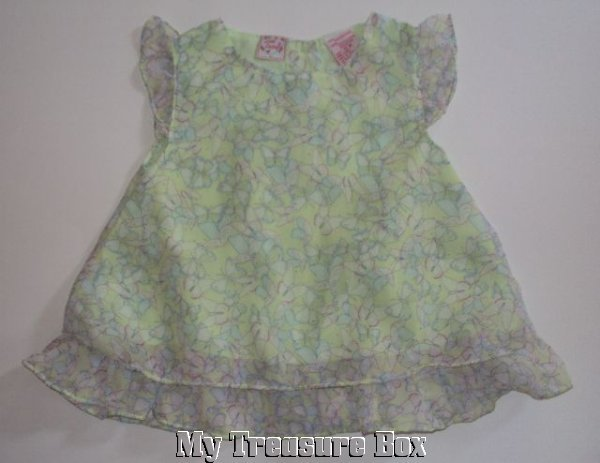LITTLE LINDSEY Adorable Butterfly Spring Dress ~ 12M