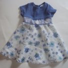 Pretty ROSE COTTAGE Girls 2T Lilac Floral Sheer Dress