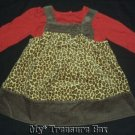 GYMBOREE 2009 GLAMOUR KITTY Dress with Red TOP 3 6 M