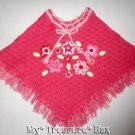 NANNETTE 24 M Pretty Pink GIRLS Shawl