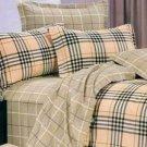 Classic Cotton Check Bedding Set