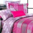 4-pc Suitable Floral Satin Drill Cotton Satin Duvet Cover Bedding Set