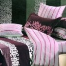 4-pc Fabulous Pink Cotton Duvet Cover