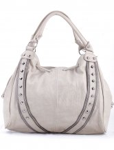 Good Looking Gray Double Handles  Tote Handbag