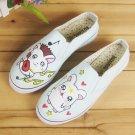 Elastic Shoes Painting Shoes Low Cut Shoe Jean Shoes Appreal Footwear Lady shoes Canvas Shoes Shoes