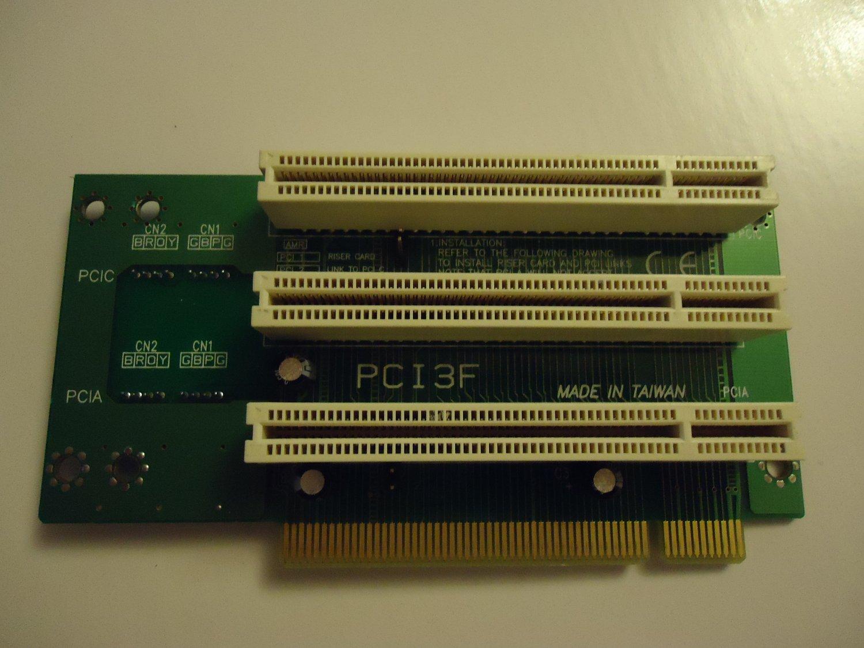 PCI3-F Riser Card (3x32BIT/33MHz) PCI Riser