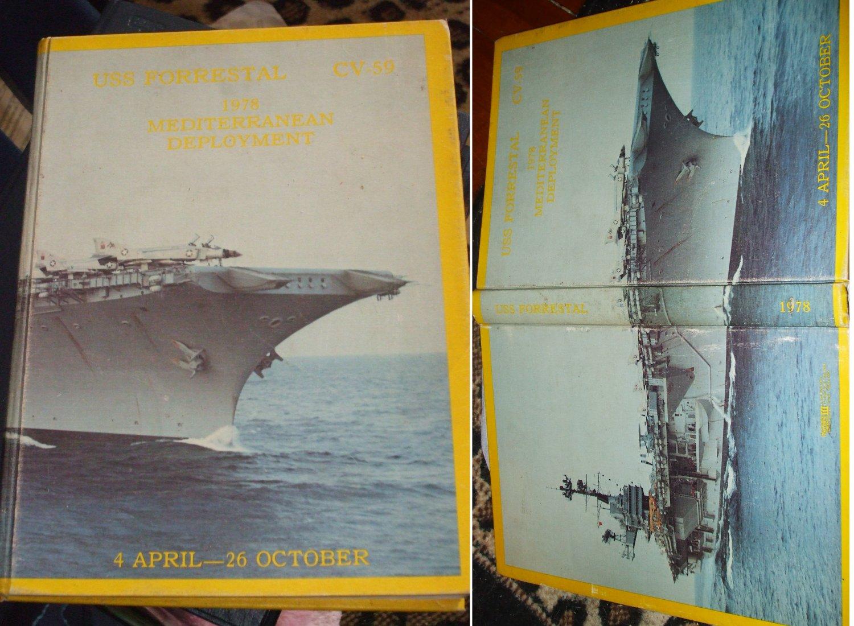 USS Forrestal 1978 Mediterranean deployment