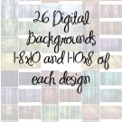 26 Digital Photography Backgrounds (DVD)