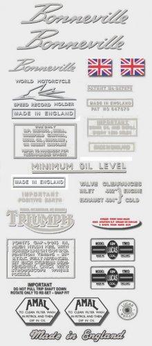 Triumph Bonneville Decals