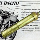 Triumph BSA Norton Velo - BRASS GREASE GUN-Old Tool Kit