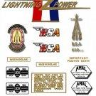 1967: BSA Hornet Decals - A65H Hornet Restorers Decals