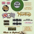 1968-70: Norton P11 Decals -  RESTORERS DECAL SET