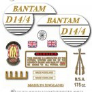 1968: BSA Bantam D14/4 Supreme decals - BSA Bantam Supreme restorers decalset