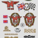Norton N15CS Decals - RESTORERS DECAL SET - Atlas 750cc Hybrid