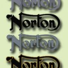 Norton Restorers - TANK BADGES - Norton Decals