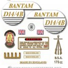 1968: BSA Bantam D14/4B Bushman decals - BSA Bantam Bushman restorers decalset