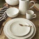 White Stoneware Set