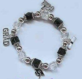 Graduation stretch charm bracelet - eg22