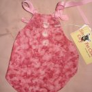 X-Small size pet dress in mauve pink - dd03