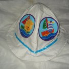 Baby / toddler hat with appliqued baby animals at sea - ekho1j