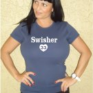 "Womens ""Nick Swisher"" Yankees T Shirt Jersey S-XXL"