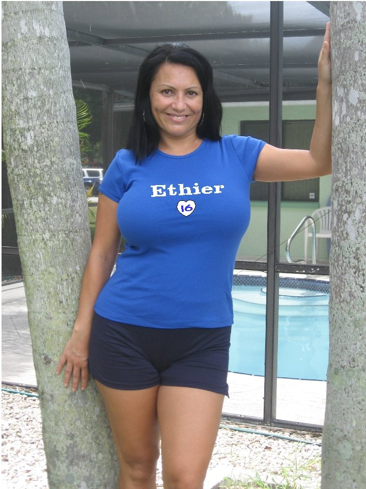 "Womens ""Andre Ethier"" Dodgers T Shirt Jersey S-XXL"