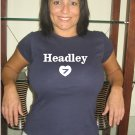 "Womens ""Chase Headley"" Padres T Shirt Jersey S-XXL"