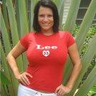 """Womens """"Cliff Lee"""" Phillies T Shirt Jersey S-XXL"""