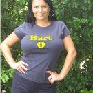 """Womens """"Corey Hart"""" Brewers T Shirt Jersey S-XXL"""