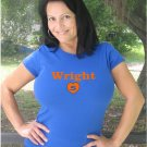 "Womens ""David Wright"" Mets T Shirt Jersey S-XXL"