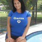 """Womens """"Matt Garza"""" Cubs T Shirt Jersey S-XXL"""