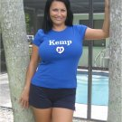 """Womens """"Matt Kemp"""" Dodgers T Shirt Jersey S-XXL"""