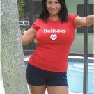 "Womens ""Roy Halladay"" Phillies T Shirt Jersey S-XXL"