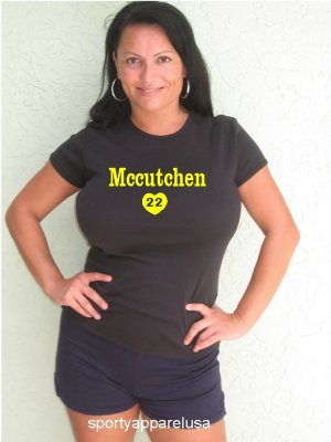 "Womens ""Andrew McCutchen"" Pirates T Shirt Jersey S-XXL"