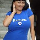 "Womens ""Aramis Ramirez"" Cubs T Shirt Jersey S-XXL"