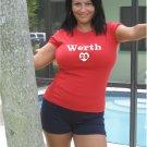 "Womens ""Jayson Werth"" Nationals T Shirt Jersey S-XXL"