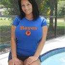 "Womens ""Jose Reyes"" Mets T Shirt Jersey S-XXL"
