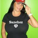 "Womens ""Gaby Sanchez"" Marlins T Shirt Jersey S-XXL"
