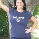 """Womens """"Ichiro Suzuki"""" Mariners T Shirt Jersey S-XXL"""