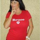 """Womens """"Jay Bruce"""" Reds T Shirt Jersey S-XXL"""